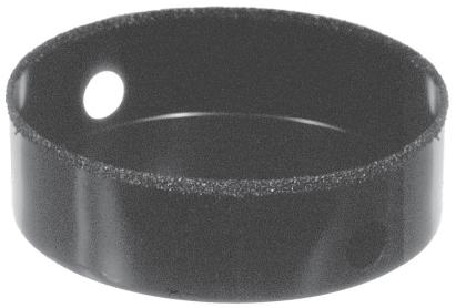 Carbide Grit Recessed Lighting Hole Saw