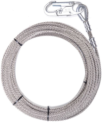 Item # 01400, Fall Protection Wire Rope On Atlantic Equipment