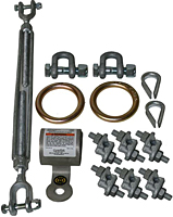 Horizontal Lifeline Shock Absorber Kit