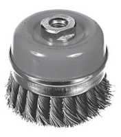 Knotted Cup Wire Brush