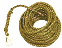 Manila Rope with Forged Hook