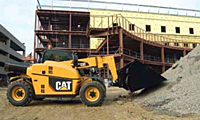 Cat® Telehandlers TH255 Telehandler