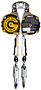 G-Link Dual Retractable Self Retracting Lifeline (SRL)