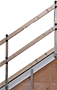 HitchClip® Gable Mounted Guardrail-2